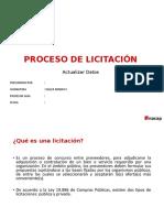 PROCESO LICITACIÓN