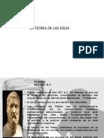 LA TEORIA DE LAS IDEAS SESION N. 3