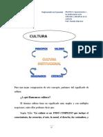 3.2 CULTURA INSTITUCIONAL- IMAGINARIO INSTITUCIONAL