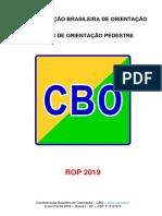02 REGRAS DE ORIENTAÇÃO PEDESTRE 2019