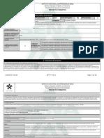 Reporte Proyecto Formativo - 1894531 - FORTALECIMIENTO DE LOS PROCESO