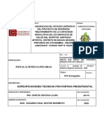 ESPECIFICACIONES TECNICAS IISS