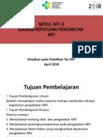 Modul Inti-3 Edukasi Kepatuhan   Pengobatan ARV - Budi.pptx