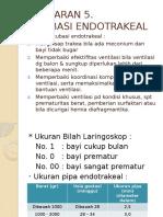 PELAJARAN 5 Intubasi