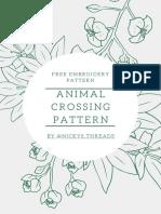Animal Crossing Leaf Pattern