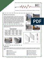 400 - 150 acoustic panel catalogue