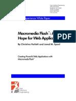 Flash Mx - Web Applications