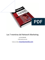 Las 7 Mentiras del Network Marketing