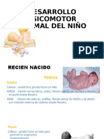 DESARROLLO PSICOMOTOR NORMAL DEL NIÑO