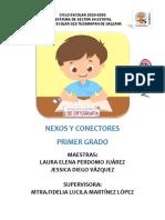 NEXOS Y CONECTORES PRIMER GRADO