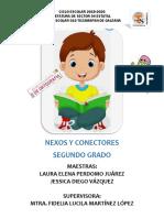 NEXOS Y CONECTORES SEGUNDO GRADO