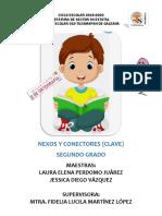 CLAVE NEXOS Y CONECTORES -SEGUNDO GRADO-