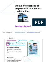 30xN maneras interesantes de #pedagogiamovil