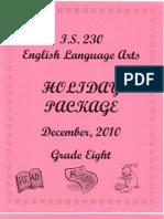 Winter Package 2010-2011 ELA COL