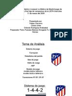 Analsis didactico atletico de madrid vs liberpool 8vos de final UEFA champions League.pptx