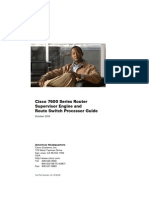 Cisco 7600 Sup and RSP Guide