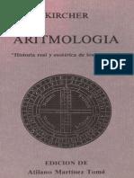(Athanasius Kircher) Aritmologia (Historia real y esotérica de los números)
