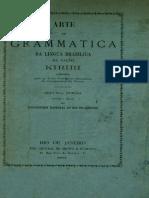 Luis Vincencio Mamiani - 1877 - Arte de Grammatica da Lingua Brazilica da Nação Kiriri (Segunda Edição)