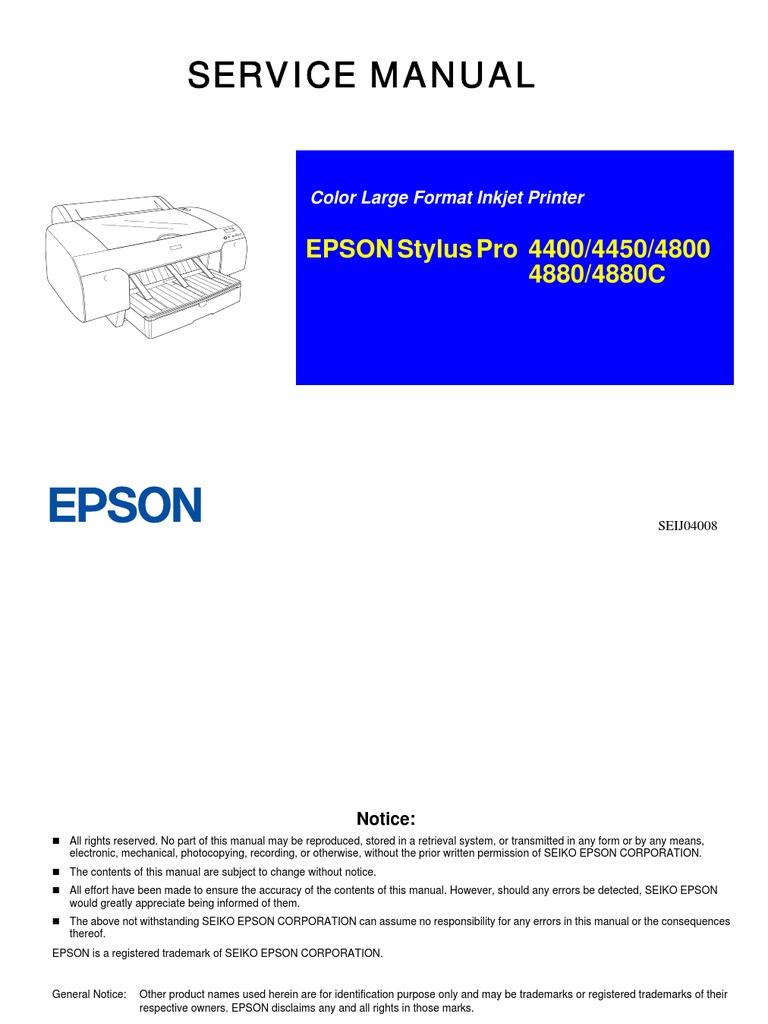 SP4400_4450_4800_4880_4880C_C | Printer (Computing) | Alternating Current