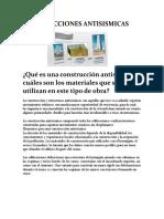 TIPOS DE CONSTRUCCION EN ZONAS DE MONTAÑAS