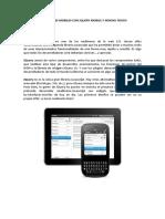 Aplicaciones Mobiles Con Jquery Mobile y Sencha Touch