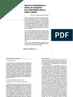 Integracion sociolingüística en contextos  de inmigracion - Lengua y migración 1-1