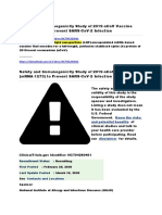 Clinical Trial Corona Mrna 1273 is a Lipid Nano Particle Vaccine
