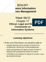 Week 9  10 Ethical, Legal  Moral Constraints.ppt