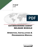 Extinguishing Agent Release
