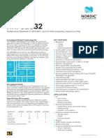 nRF52832 product brief