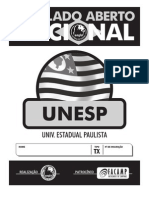 Simulado Aberto Nacional - UNESP