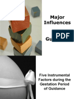 2 Major Influences of Guidance