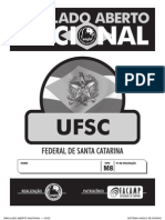 Simulado Aberto Nacional - UFSC