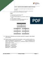 A1 - FICHA DE TRABALHO 1 - AÇÃO DO ÁCIDO CARBÓNICO SOBRE AS ROCHAS
