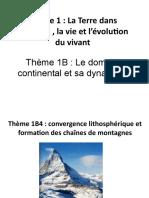 Thème 1B4 Convergence lithosphèrique et formation des chaînes de montagnes 2017 bis (1).odp