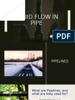 FLUID FLOW IN PIPE