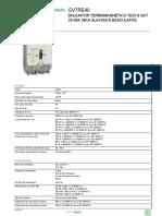 Disjuntores-motores TeSys GV7_GV7RE40