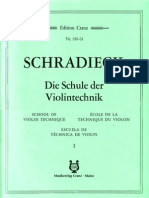 Schradieck - School of Violin Technics - Book I