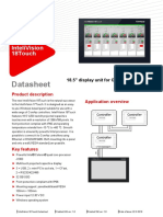 InteliVision 18Touch - Datasheet