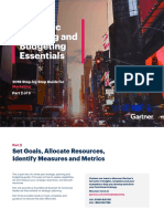 Strategic Planning & Budget Essentials Part -2 by Gartner