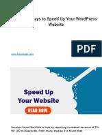 5 Quick Ways to Speed Up Your WordPress Website.pptx