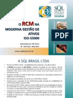 O RCM NA MODERNA GESTÃO DE ATIVOS_LP2014.ppt