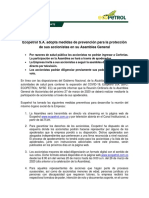 Ecopetrol anunci asamblea virtual de accionistas