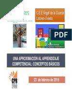 Una aproximación al aprendizaje competencias.  CPEE Latores-CEE Angel de La Guarda