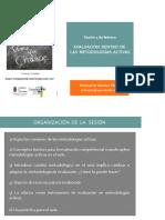La Evaluación Dentro de Las Metodologías Activas. CEP Cantabria