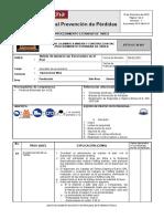 PETS-TOL-M-015 Batido de mineral con excavadora en el Pad