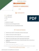 Macarrão à carbonara - TudoGostoso.pdf