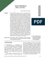 Comunicação cientifica. reflexões sobre o conceito.pdf