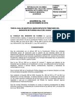5. Acuerdo 516 NUEVO ESTATUTO TRIBUTARIO DE FLORIDA V. 2015.pdf