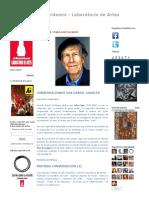 elMontevideano - Laboratorio de Artes_ JOHN CAGE _ PARA LOS PÁJAROS